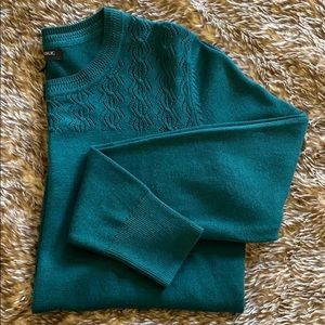 Banana republic size ps green sweater